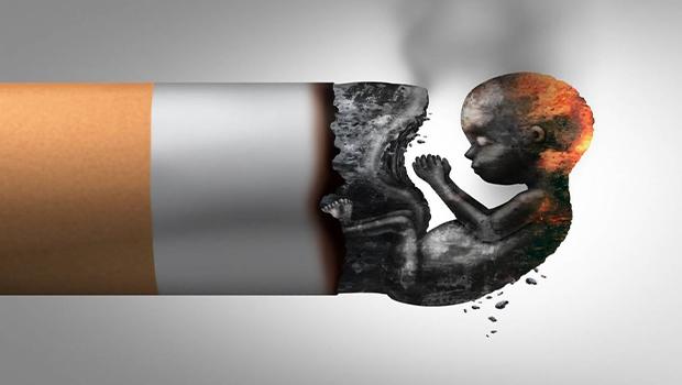 عوارض مصرف سیگار در بارداری